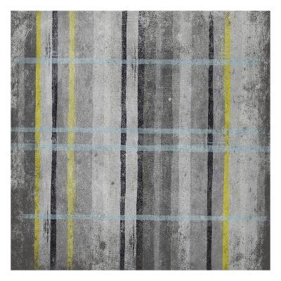 YG Stripes-Jace Grey-Art Print