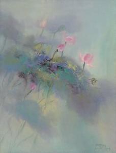 The Rhyme of Lotus, No.5 by Yi Xianbin