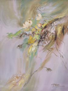 The Rhyme of Lotus, No.9 by Yi Xianbin