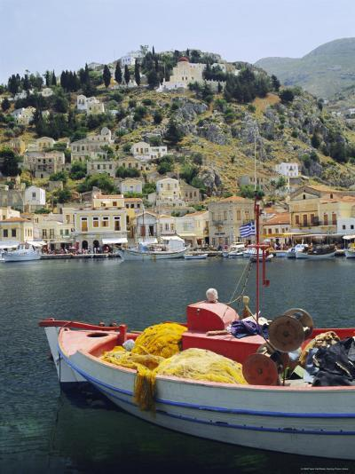 Yialos, Symi, Dodecanese Islands, Greece, Europe-Fraser Hall-Photographic Print