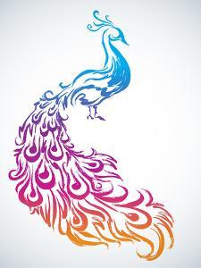 Diwali Peacock by yienkeat
