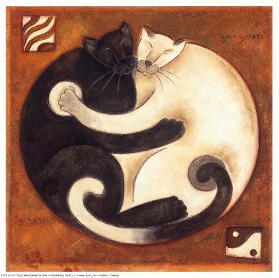 Yin Chi Yang Chats-Aline Gauthier-Art Print