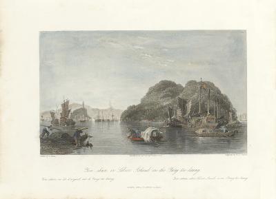 Yin-shan, or Silver Island, on the Yang-tse-keang-Thomas Allom-Premium Giclee Print