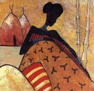 Tribal Fashion I by Yinka