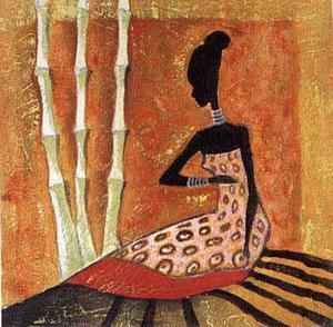 Tribal Fashion II by Yinka