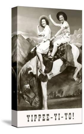 Yippee-Yi-Yo, Women on Bucking Horse