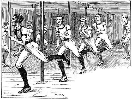 Ymca Gymnasium, Longacre, London, 1887--Giclee Print