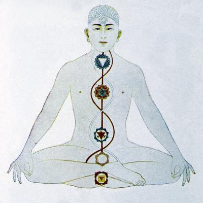 Yoga, 19th Century Artwork-CCI Archives-Photographic Print