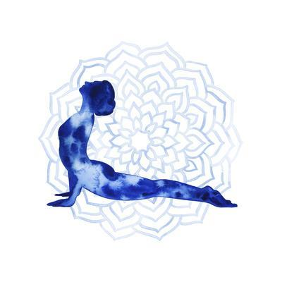 Yoga Flow VI-Grace Popp-Art Print