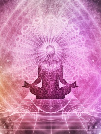 Yoga Meditation Faith Buddha-Wonderful Dream-Art Print