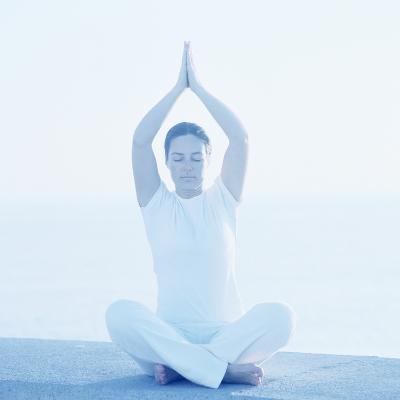 Yoga Meditation-Cristina-Photographic Print
