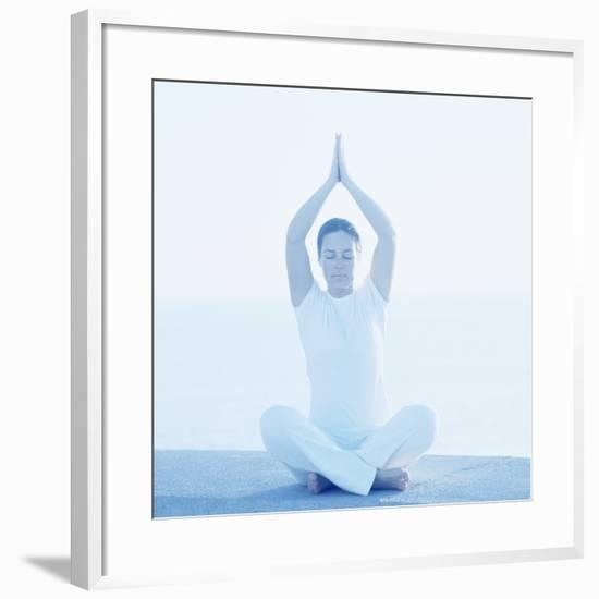 Yoga Meditation-Cristina-Framed Photographic Print