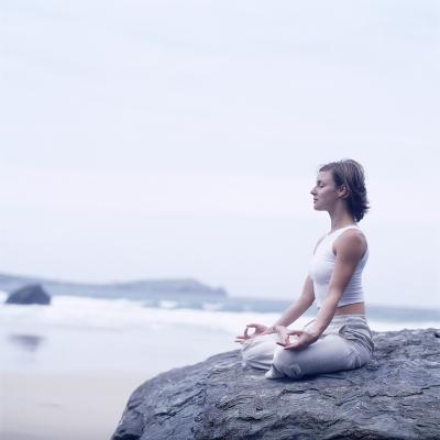 Yoga Meditation-Tony McConnell-Photographic Print