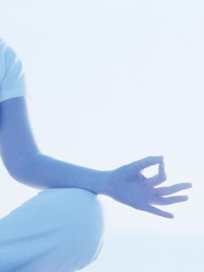 Yoga Pose-Cristina-Photographic Print