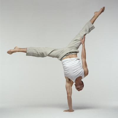 Yoga Pose-Tony McConnell-Photographic Print