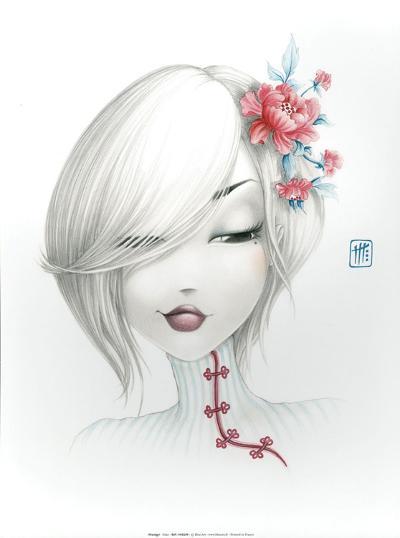 Yoko-Misstigri-Art Print