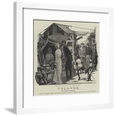 Yolande-William Heysham Overend-Framed Giclee Print