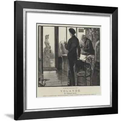 Yolande-William Heysham Overend-Framed Giclee Print
