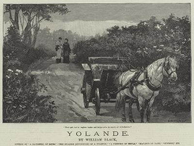 Yolande-William Heysham Overend-Giclee Print