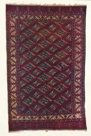 Yomut Turkoman carpet, c1700-Unknown-Giclee Print