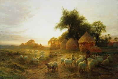 Yon Yellow Sunset Dying in the West-Joseph Farquharson-Giclee Print
