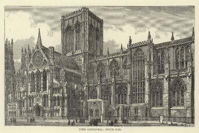 York Cathedral, South Side--Giclee Print