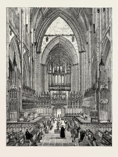 York Cathedral: the Choir--Giclee Print