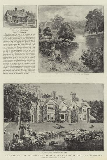 York Cottage, the Residence of the Duke and Duchess of York at Sandringham--Giclee Print