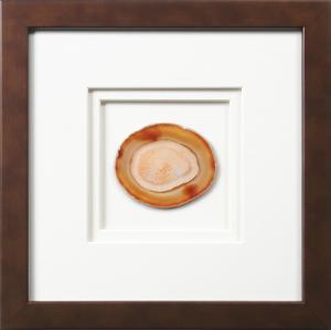York Framed Agate - Earthtone