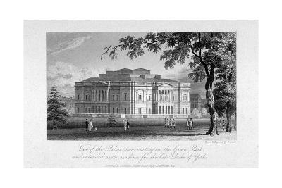 York House and Green Park, Westminster, London, C1800-Samuel Rawle-Giclee Print