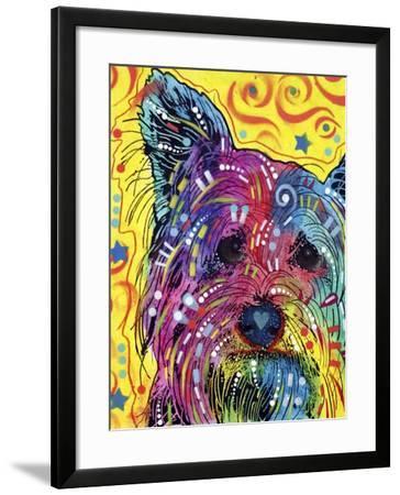 P//L Norwich Terrier Dog Art Print Matted