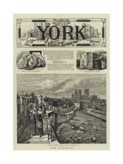 York Illustrated--Giclee Print
