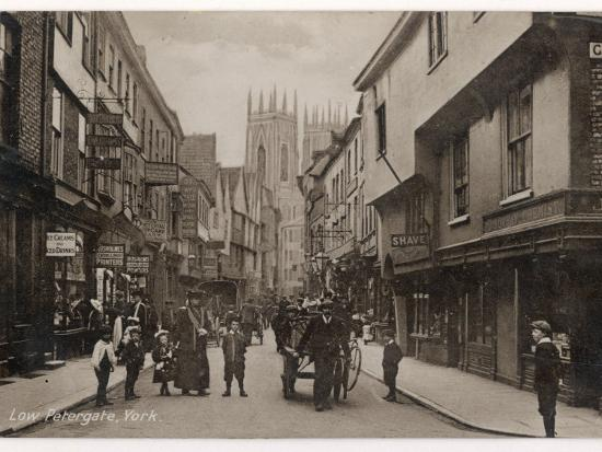 York: Low Petergate--Photographic Print