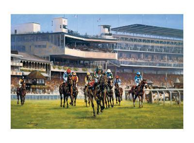 York Races-Graham Isom-Collectable Print