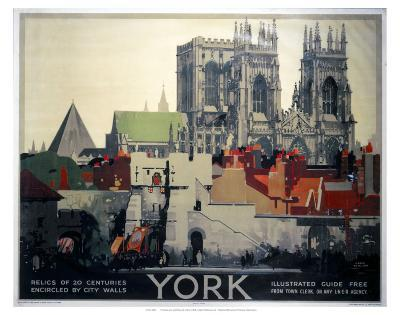York Relics of 20 Centuries--Art Print