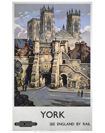 York, See England by Rail