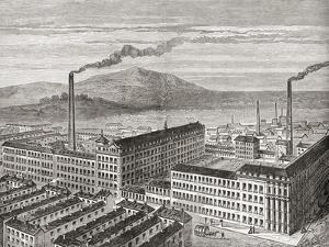 York Street Mill, Belfast, Northern Ireland, C.1880