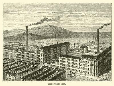 York Street Mill--Giclee Print