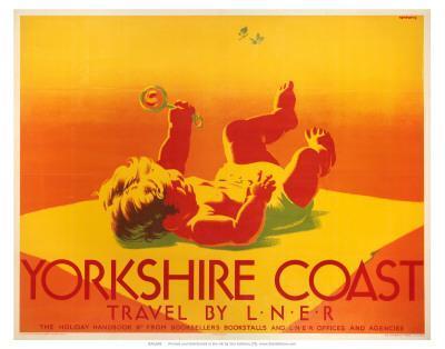 Yorkshire Coast, LNER, c.1923-1947--Art Print