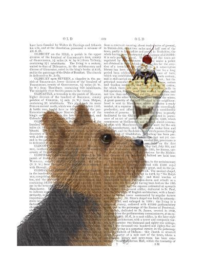 Yorkshire Terrier Ice Cream-Fab Funky-Art Print