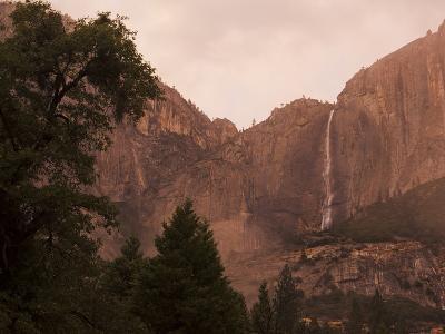 Yosemite Falls at Dusk-Mikey Schaefer-Photographic Print