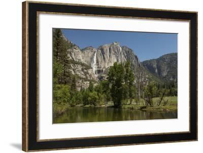 Yosemite Falls in Spring-Richard T Nowitz-Framed Photographic Print