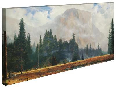 Yosemite Meadow-Thomas Kinkade-Gallery Wrapped Canvas