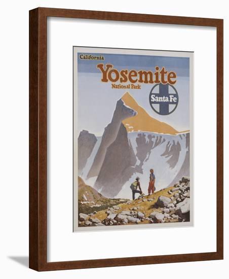 Yosemite National Park Poster by Don Perceval-swim ink 2 llc-Framed Photographic Print