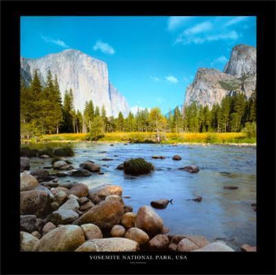 Yosemite National Park, USA-John Lawrence-Art Print