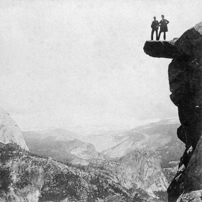 Yosemite Valley, California, 1894-BW Kilburn-Giclee Print