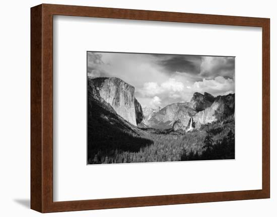Yosemite Valley from Tunnel View, California, Usa-Russ Bishop-Framed Photographic Print