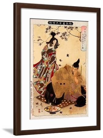 Yoshitoshi the Demon of Mount, Thirty-Six Transformations-Yoshitoshi Tsukioka-Framed Giclee Print