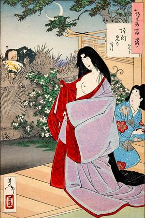 A Glimpse of the Moon - Kaoyo, One Hundred Aspects of the Moon