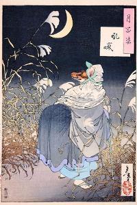Cry Of The Fox by Yoshitoshi Tsukioka
